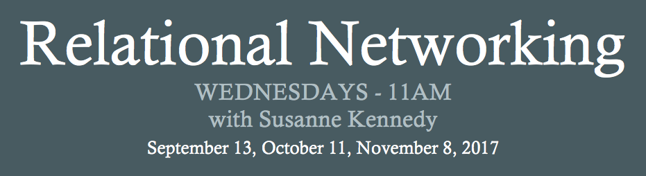 relational networking webinar